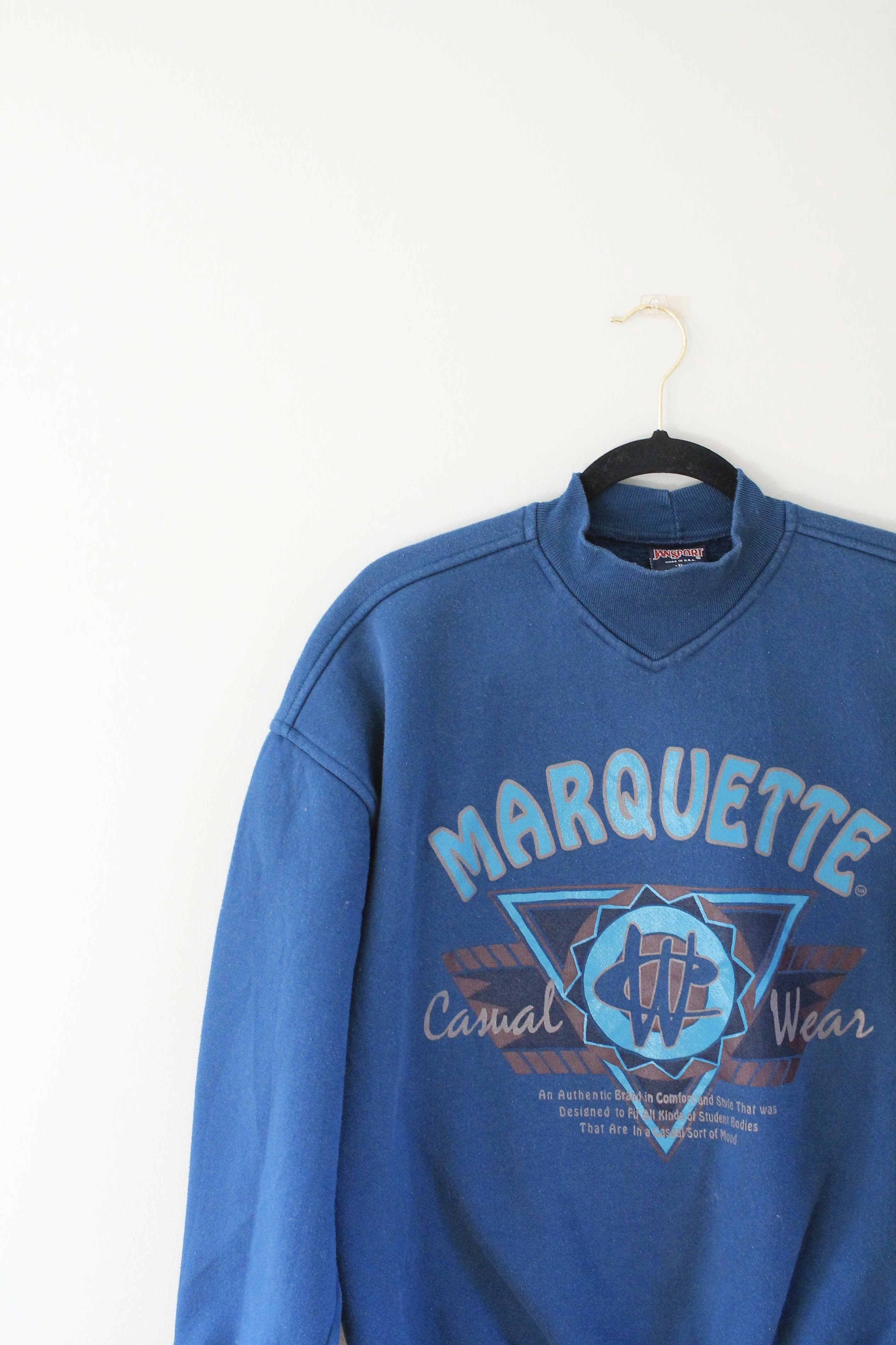 Marquette University Rare Vintage Sweatshirt Size Xl Default Title Sweatshirts Vintage Sweatshirt University Sweatshirts [ 4272 x 2848 Pixel ]