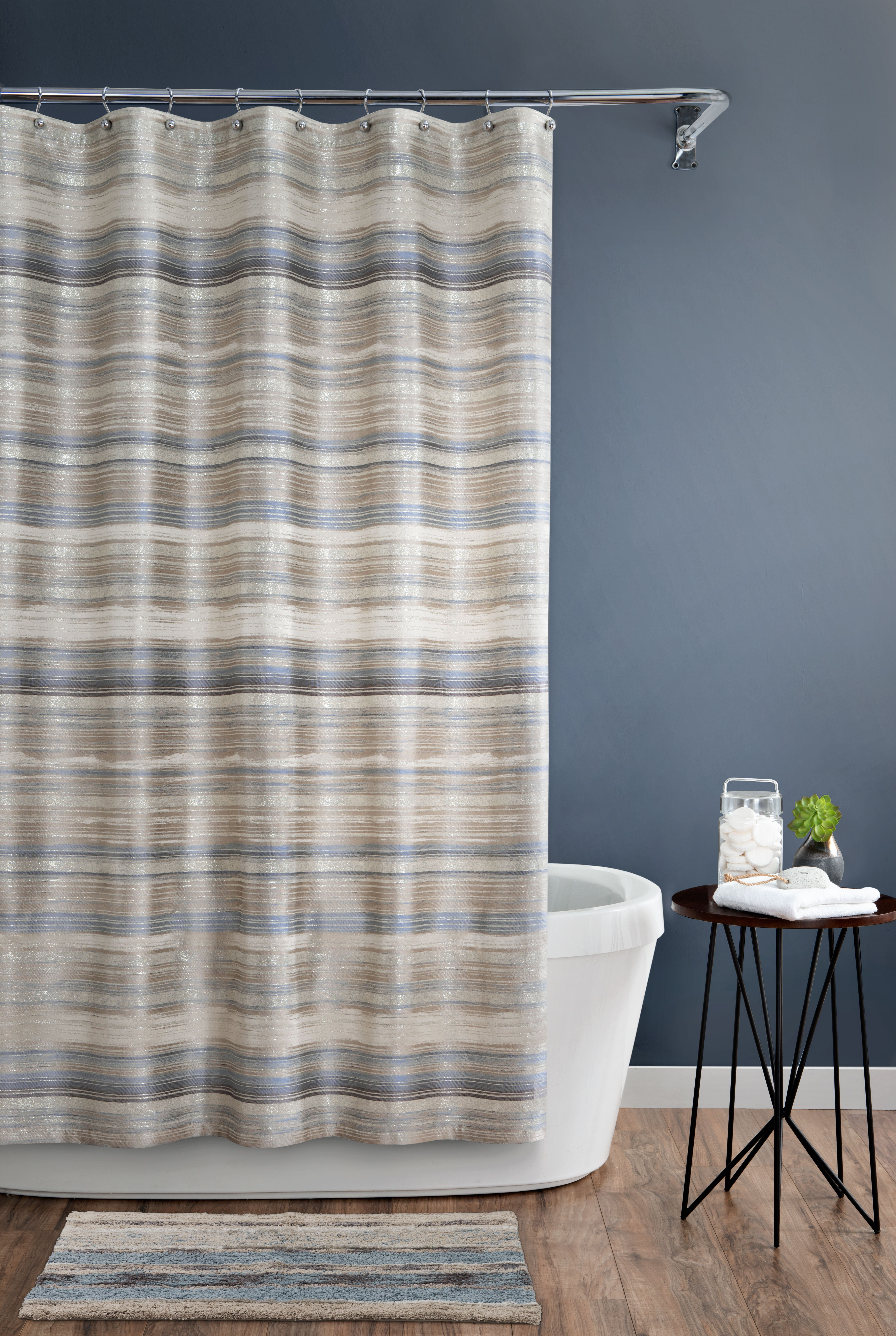 Darian Shower Curtain 72x72 Long Shower Curtains Extra Long
