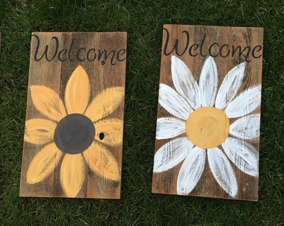 Items Similar To Mother S Day 2016 Rustic Welcome Signs