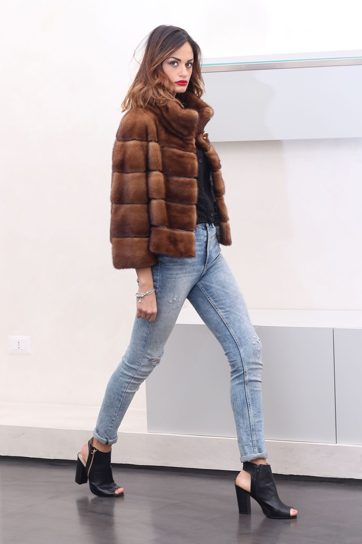 Fourrure Visone Pelzmantel Pelliccia Nerz Mink Jacket Pelz Fur Coat OqHYgzwnp