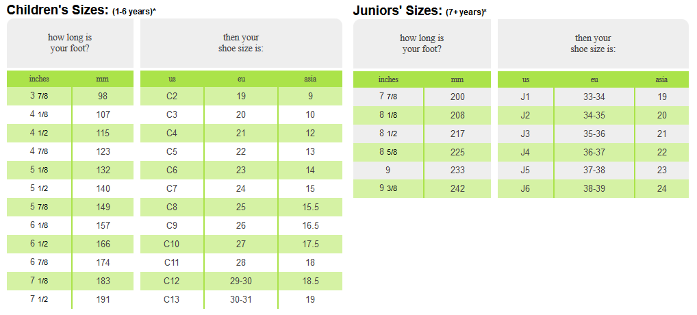 de4e21481243 crocs size chart