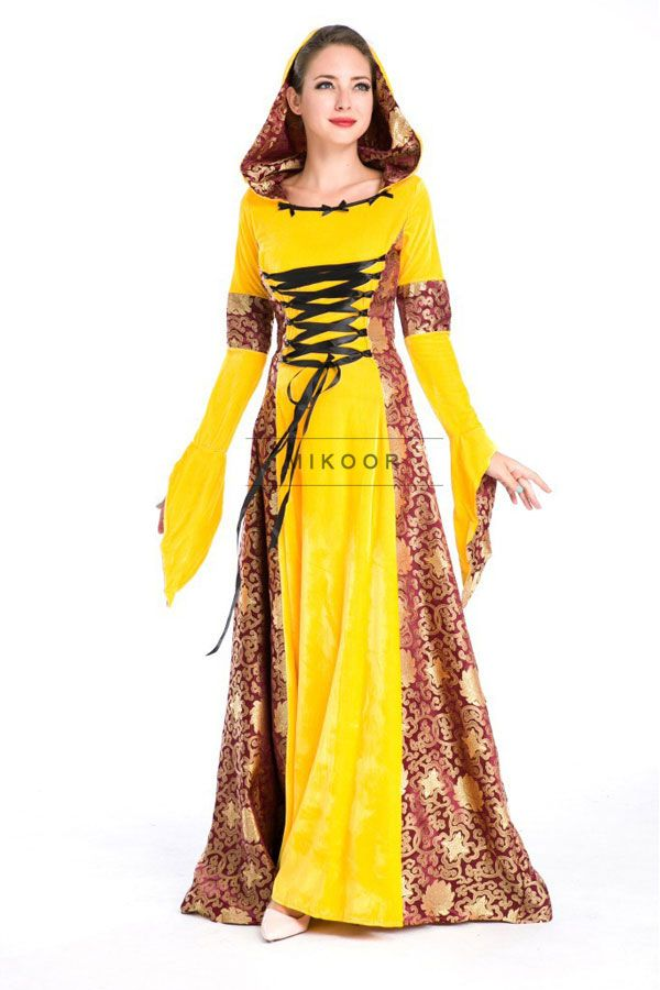 Renaissance Noble Princess Cosplay Costume Victorian Ball Gown Adult ...