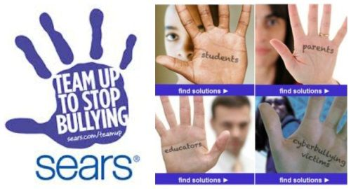 Sears Team Up to Stop Bullying Program to Keep Kids Safer in School
