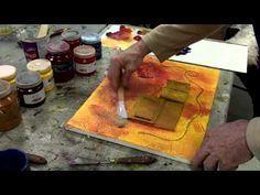 Atelier De Creativite En Peinture Acrylique Collages Et Textures