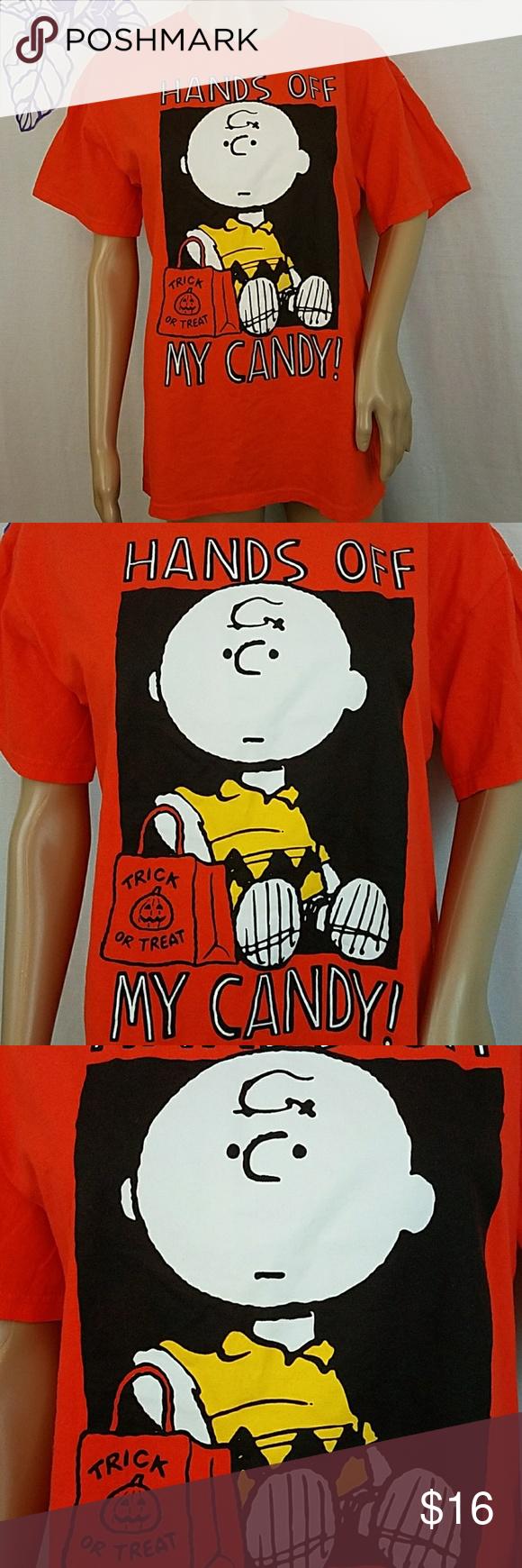 5 4 30 peanuts charlie brown halloween t-shirt0082 | my posh picks