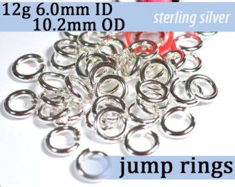18g 110mm id sterling silver 925 jump rings 18g1100 open 18 ga 11mm id sterling silver jump rings wire gauge 18 awg wire diameter greentooth Choice Image