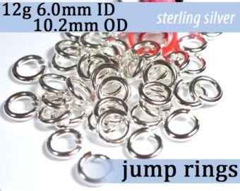 18 ga 11mm id sterling silver jump rings wire gauge 18 awg wire 18 ga 11mm id sterling silver jump rings wire gauge 18 awg wire diameter greentooth Gallery
