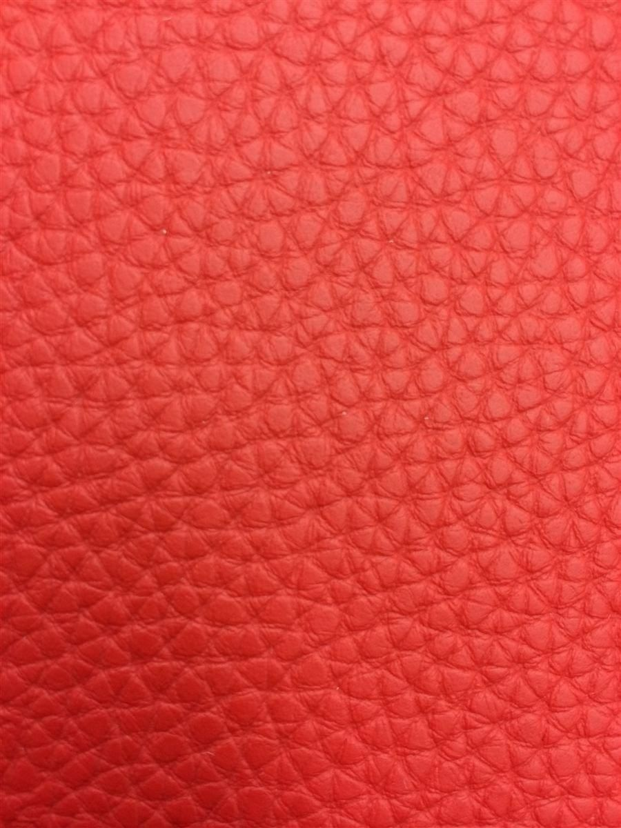 Red Textured PVC Leather Vinyl Fabric | Cyndaquil Reference