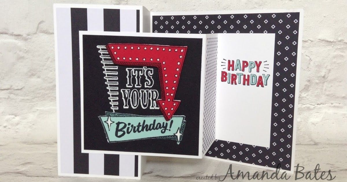 the craft spa stampin up uk independent demonstrator marquee messages double z joy fold cardfancy