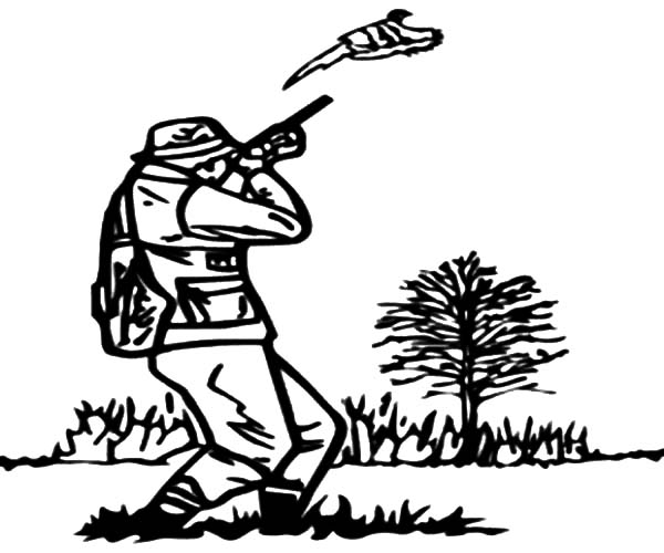 Shooting Practice For Hunting Coloring Pages Coloring Sky Shooting Practice Coloring Pages Color