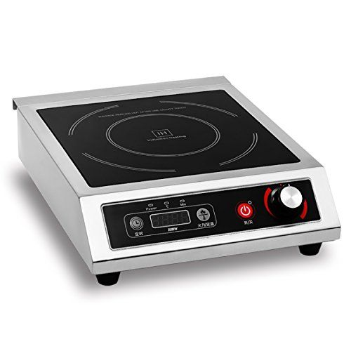 Commercial Induction Cooktop Electric Countertop Range Burner