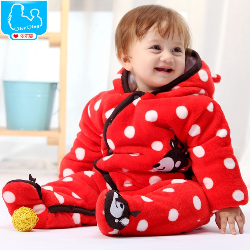 Thicken Winter Baby Rompers Warm Cotton Fleece Baby Clothes Infant Toddler Coveralls Jumpsuits One Pieces https://t.co/B3jegCZYdK
