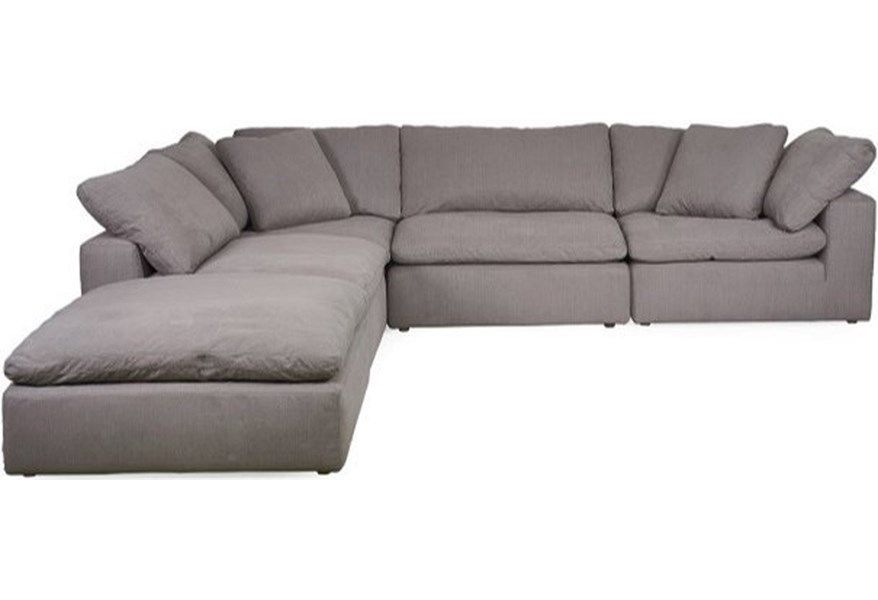 Cloud Sectional by Synergy Home Furnishings at HomeWorld
