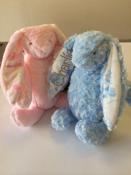 Plush bunny £16.00