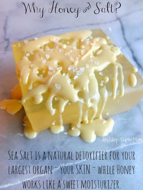 Mediterranean Sea Salt And Honey Soap ~ It Looks Good Enough To Eat! This  Is A Simple Yet Beautiful DIY Melt U0026 Pour Soap Recipe Made With  Mediterranean Sea ...