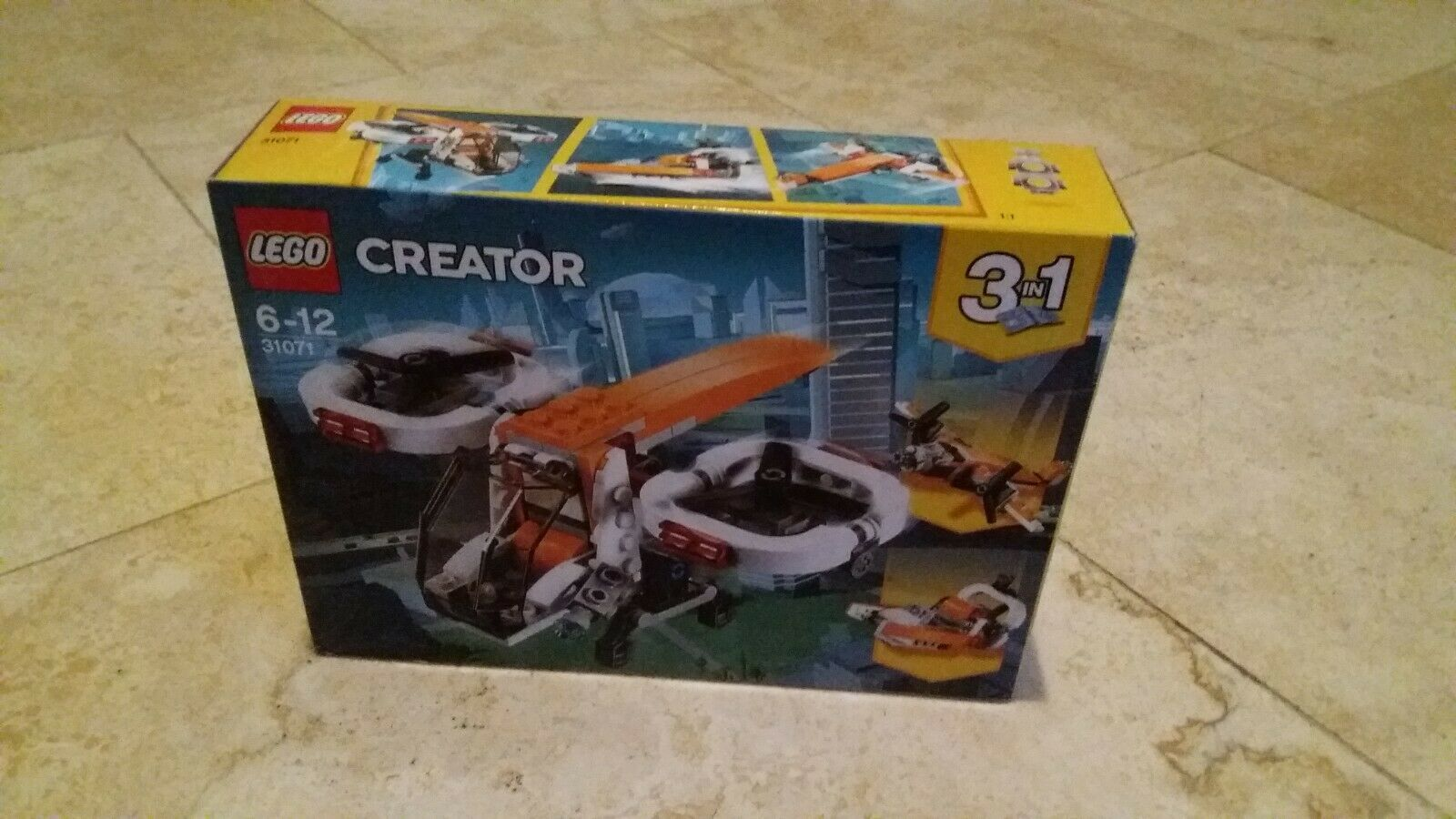 Lego Creator 3in1 31071 Drone Explorer Still in box