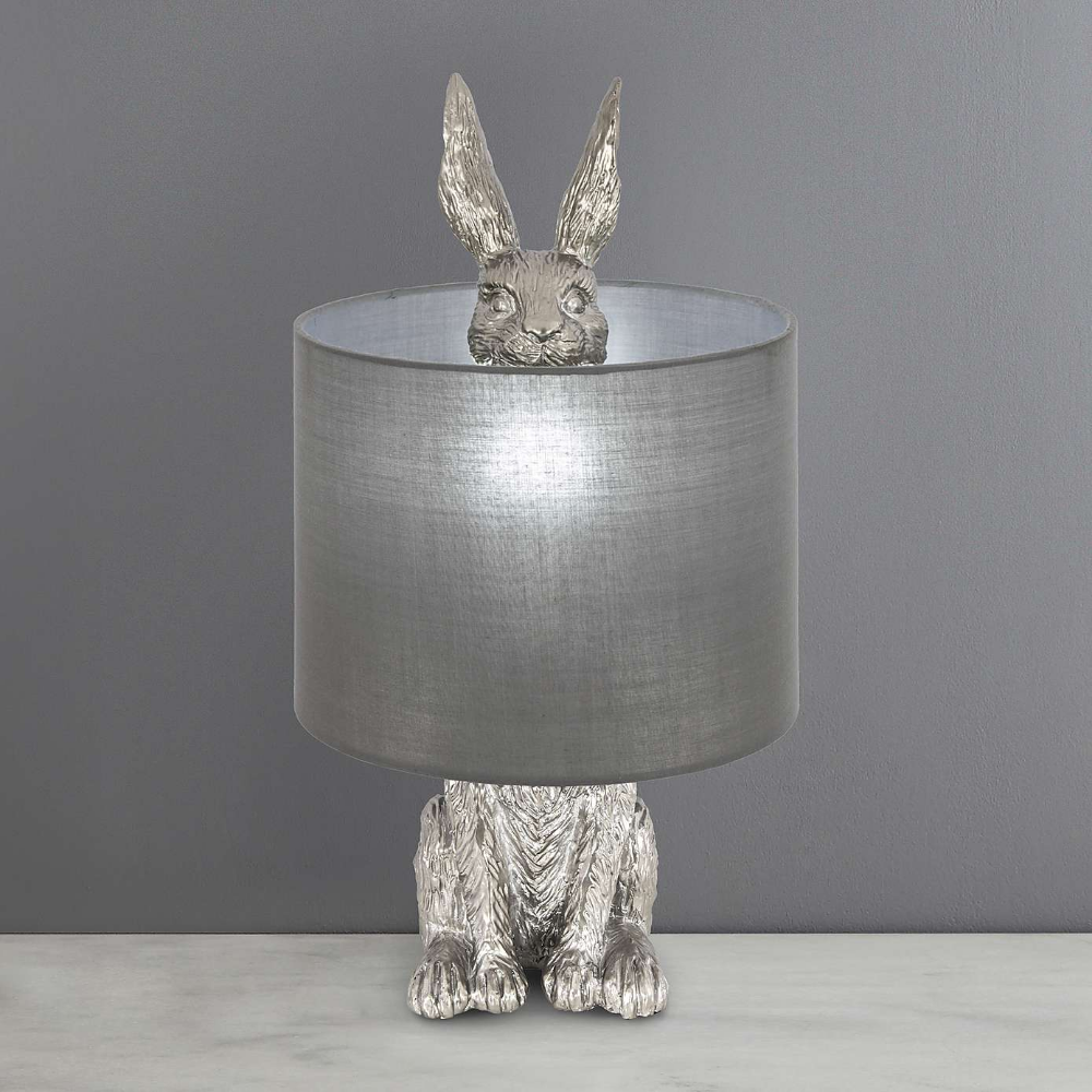 Osmoy Resin Hare Table Lamp | Dunelm