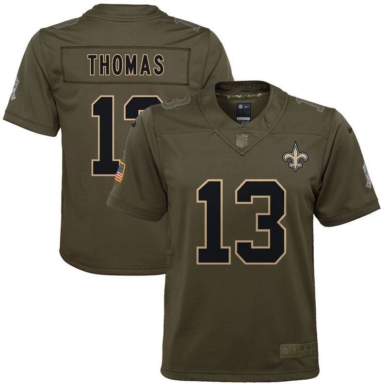 timeless design 96901 0af9d Michael Thomas New Orleans Saints Nike Youth Salute to ...
