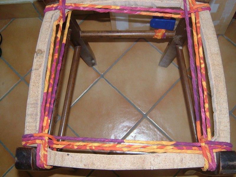 chaise rempailler crea d 39 isa chaises tissu et tuto. Black Bedroom Furniture Sets. Home Design Ideas