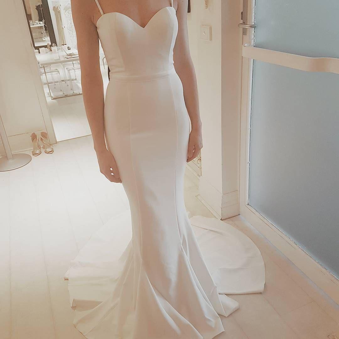 553727dca23 Flawless White Runway dress.