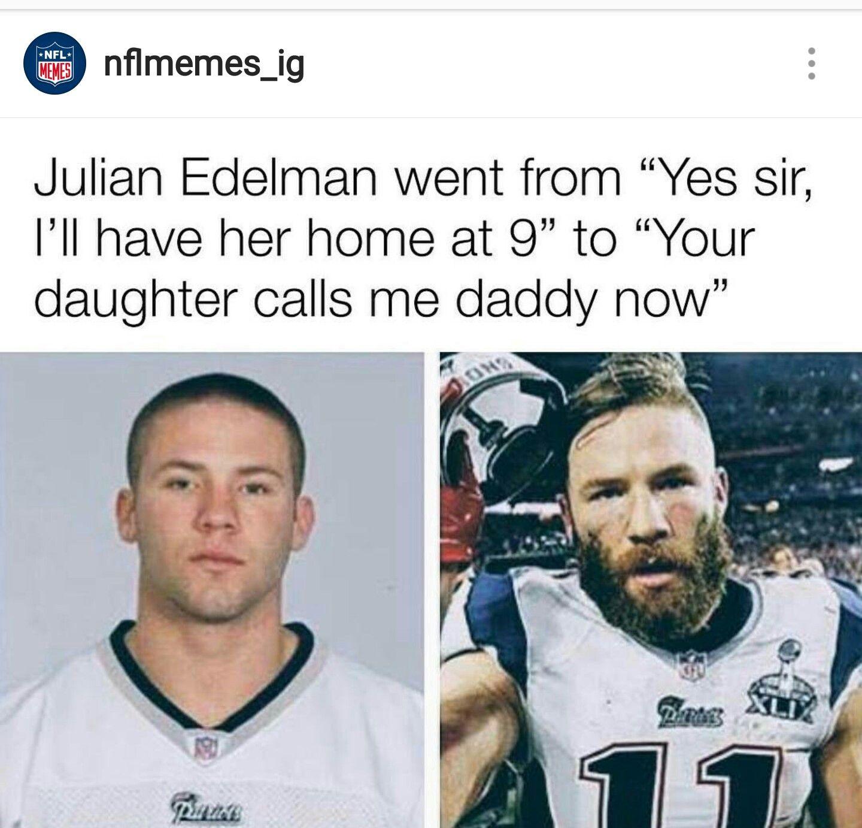 I M Done Julian Edelman Sports Humor Football Comedy