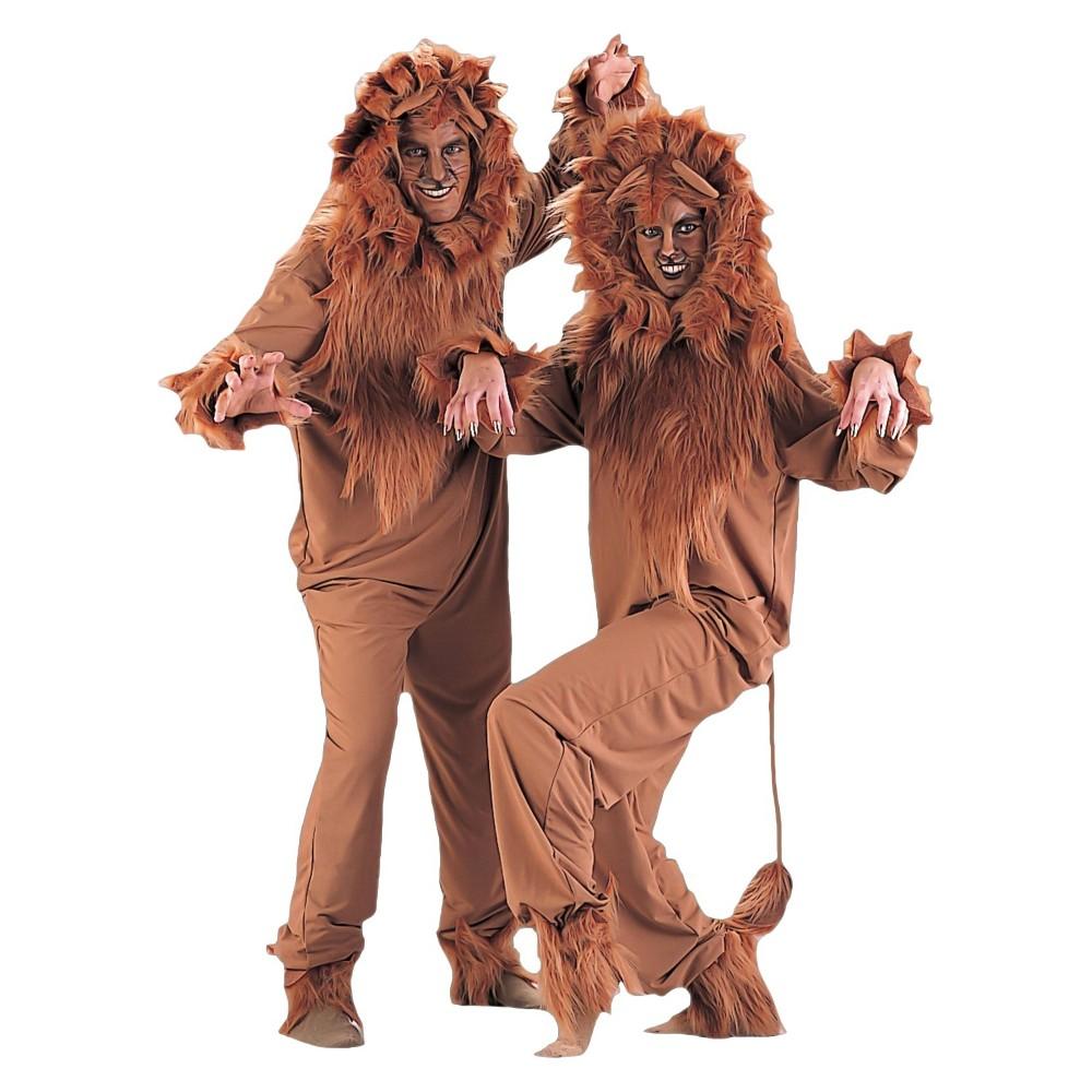 Halloween Adult's Lion Costume Brown Large, Men's in 2020 ...