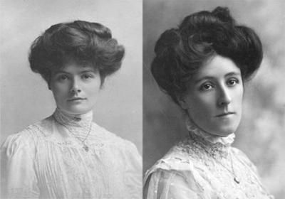 100 Year Old Hairstyle Trends For Hairstyle Appreciation Day Old Hairstyles 1800s Hairstyles Gibson Girl Hair