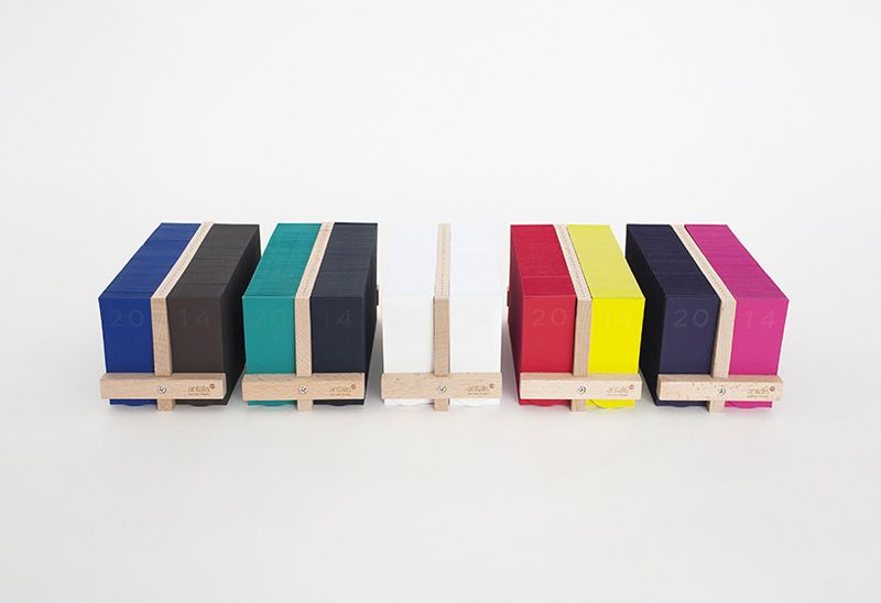 Memo Calendar is a minimalist design created by Kong-based designer Milk Design