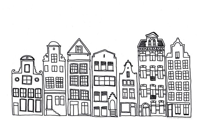 Line Art Building : City drawing black and white simple google Търсене