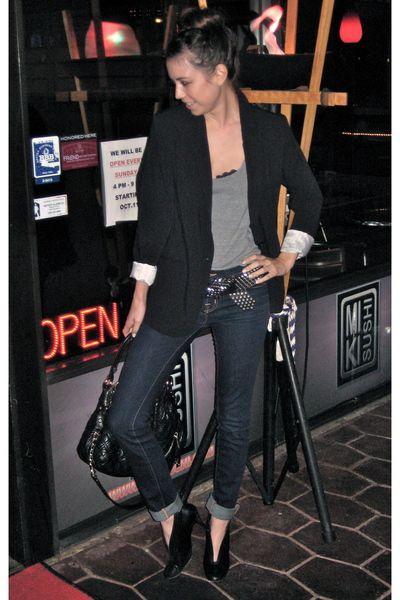 Black-mossimo-blazer-silver-american-apparel-t-shirt-blue-j-brand-jeans-bl