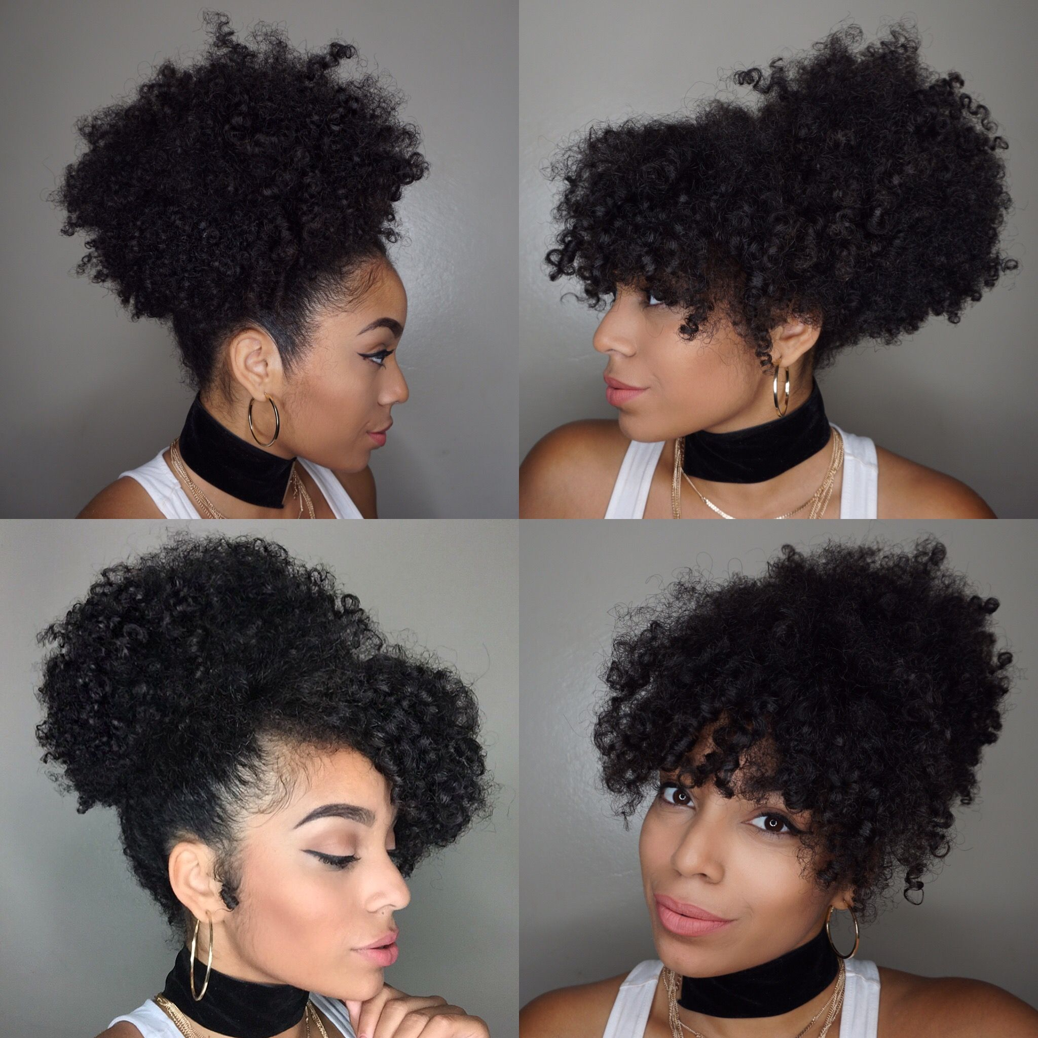 Puff Styles For Natural Hair You Actually Ashly