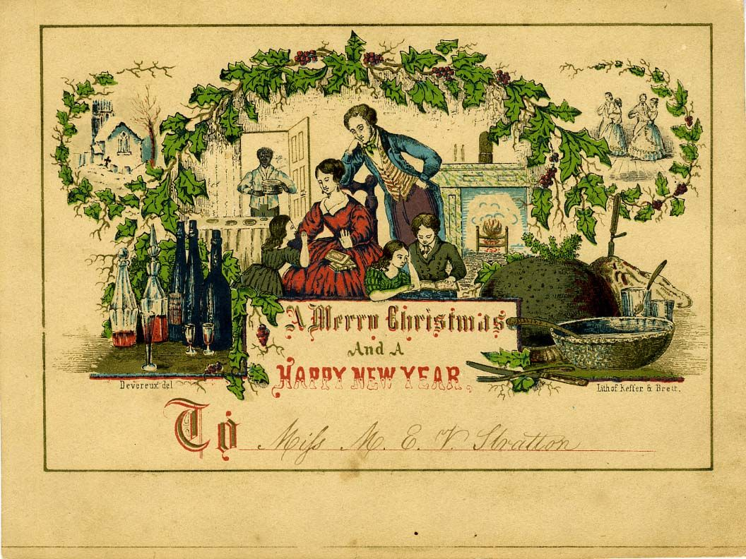 the story of the world s first christmas card my style 3