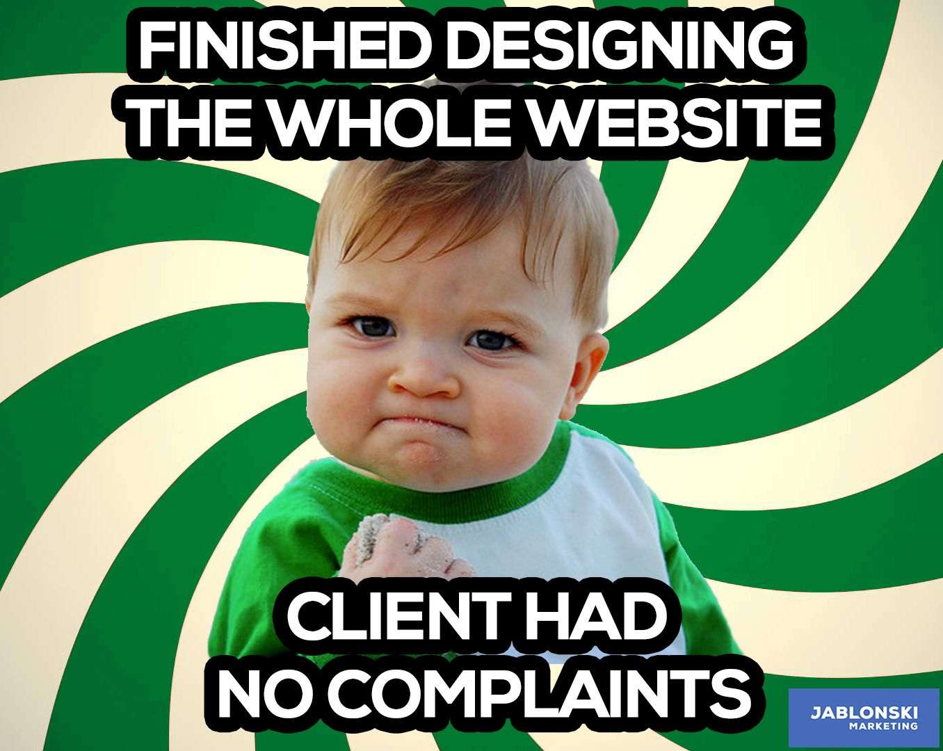 cbcd2201275ea7cae9ee5d88d18bd820 finished designing the whole website, client had no complaints
