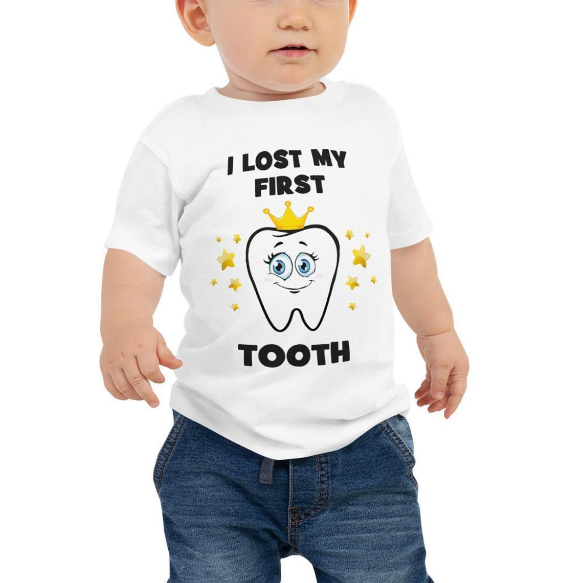 Awkward Styles I Lost My First Tooth Raglan for Toddler Cute Lost Tooth Baseball Shirt