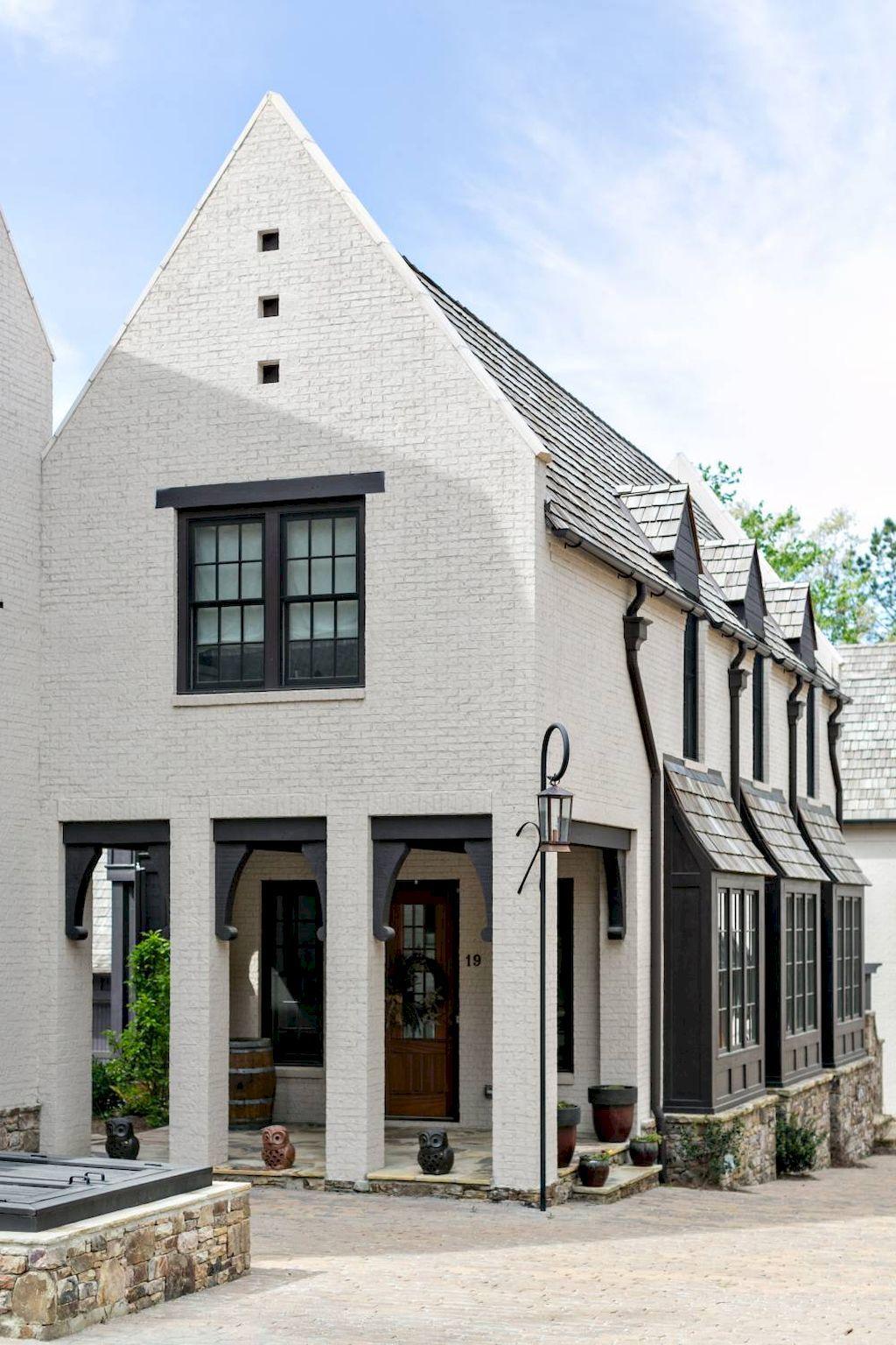 90 incredible modern farmhouse exterior design ideas - Rustic modern farmhouse exterior ...