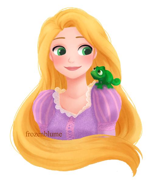 Enredados tangled rapunzel illustration