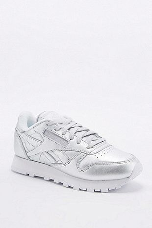 Reebok Classic – Sneaker in Silber   Silberne turnschuhe