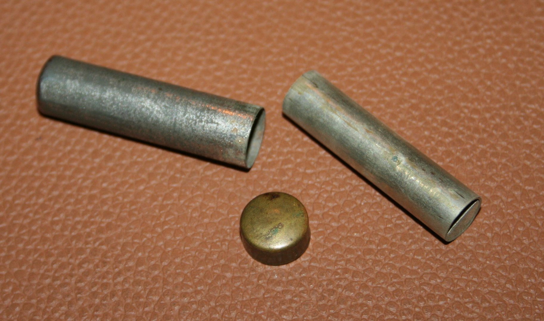 Here is an Antique pitch pipe we found in an old Gibson case & Here is an Antique pitch pipe we found in an old Gibson L-1 case ...