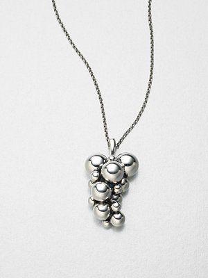 Georg Jensen Sterling Silver Grape Necklace