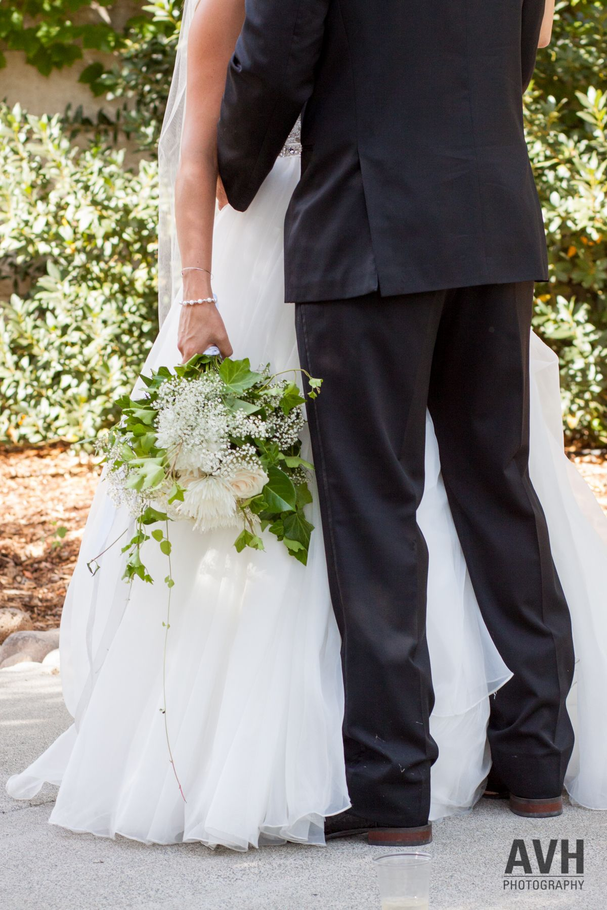 Wedding summer wedding bride and groom bouquet photo by avh