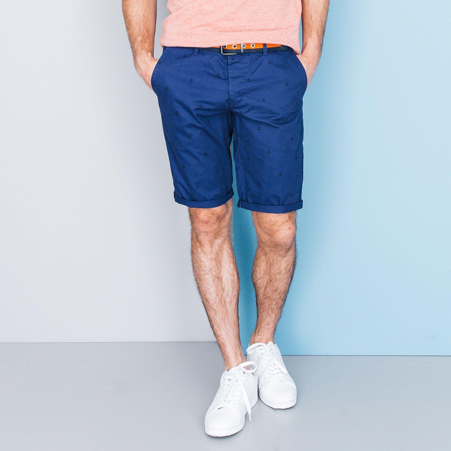 Bermuda Chino - Vêtement Homme - Bleu | Vê