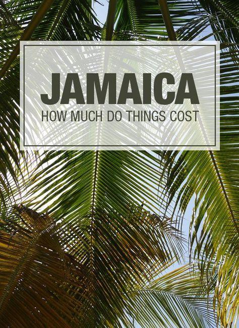 Jamaica no tiene que ser caro, tener una idea de lo que cuestan las cosas para que pueda presupuesto su próximo viaje a la isla de no se preocupe y un amor!