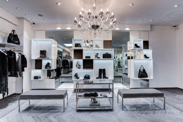 Philipp plein boutique st petersburg store design