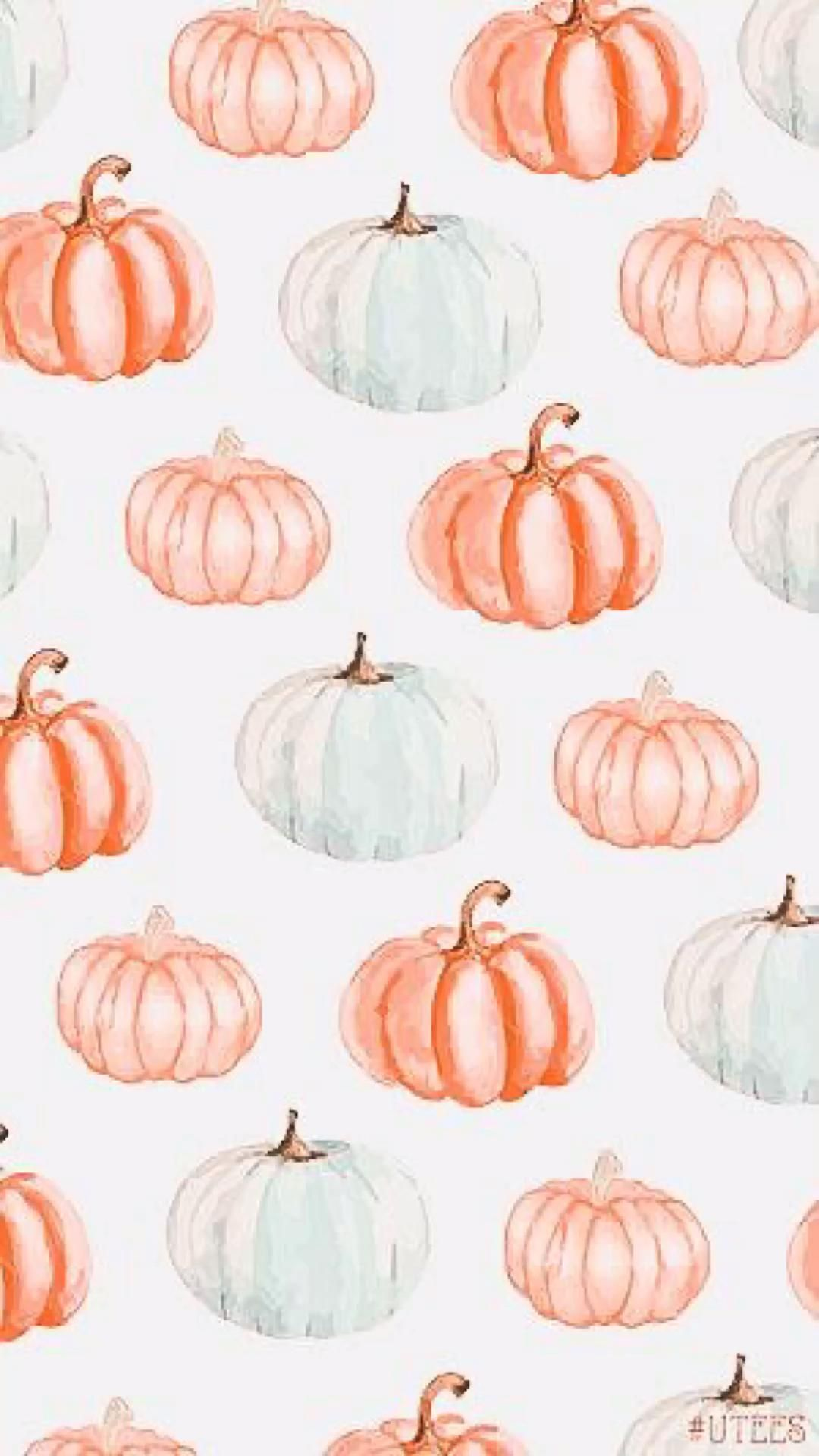 Aesthetic Pumpkin 🎃 wallpapers! I will have more aesthetic fall wallpapers coming don't worry!