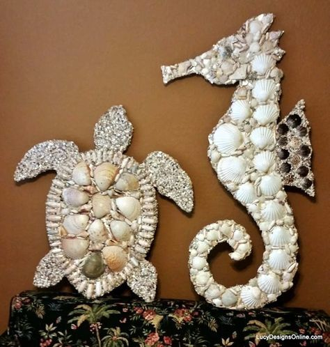 40 Beautiful And Magical Sea Shell Craft Ideas