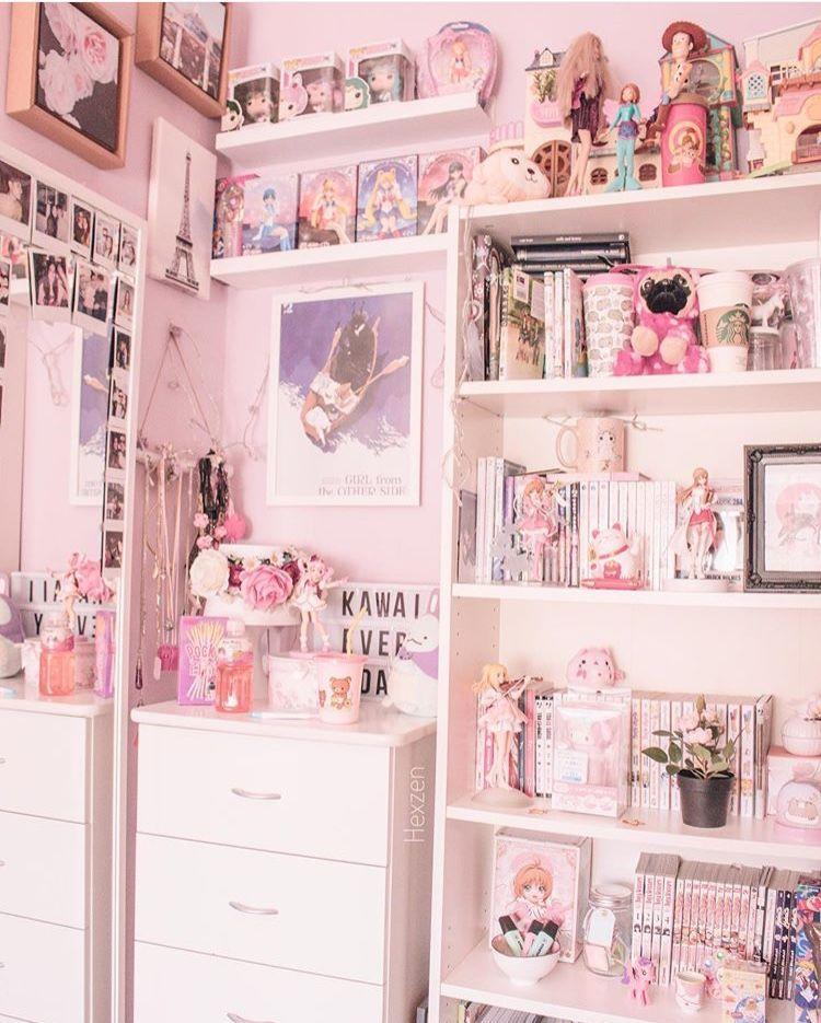 Pin By Becca On Para O Meu Cuarto Cute Room Ideas Cute Room Decor Kawaii Bedroom