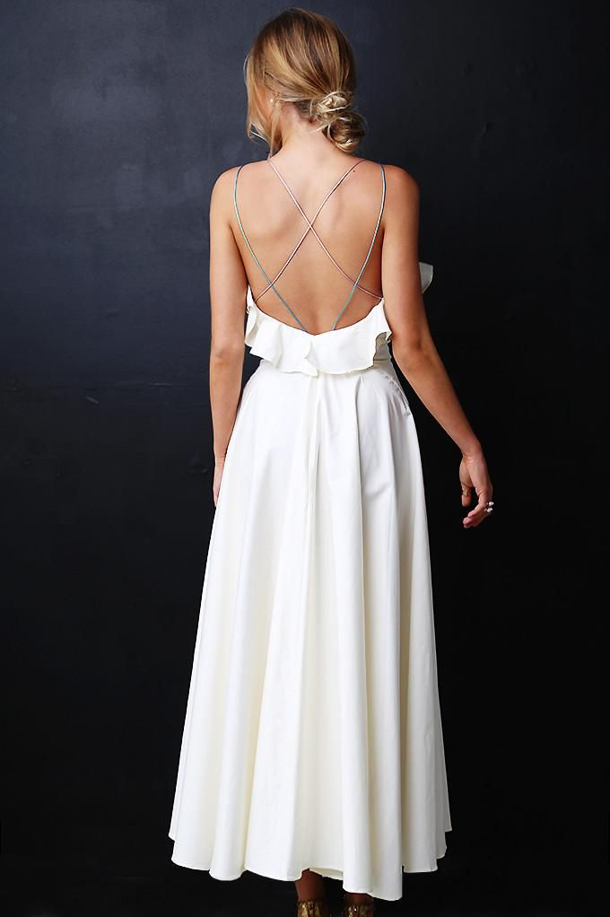 LUXE LINE: LOVE, WEAR & REPEAT DRESS - IVORY