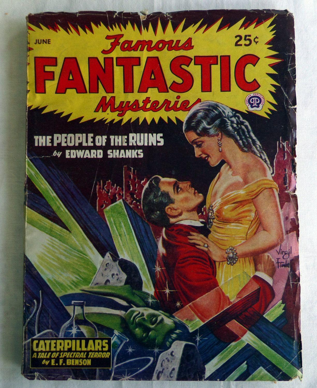 Famous Fantastic Mysteries June 1947
