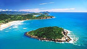 PRAIAS DO BRASIL: Arquipélago de  Imbituba - Florianópolis (42 praias)-Est. Santa Catarina,Brazil.
