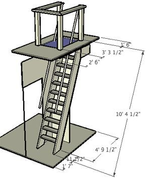 How To Build Ship Ladder Google Search Attic Staircase